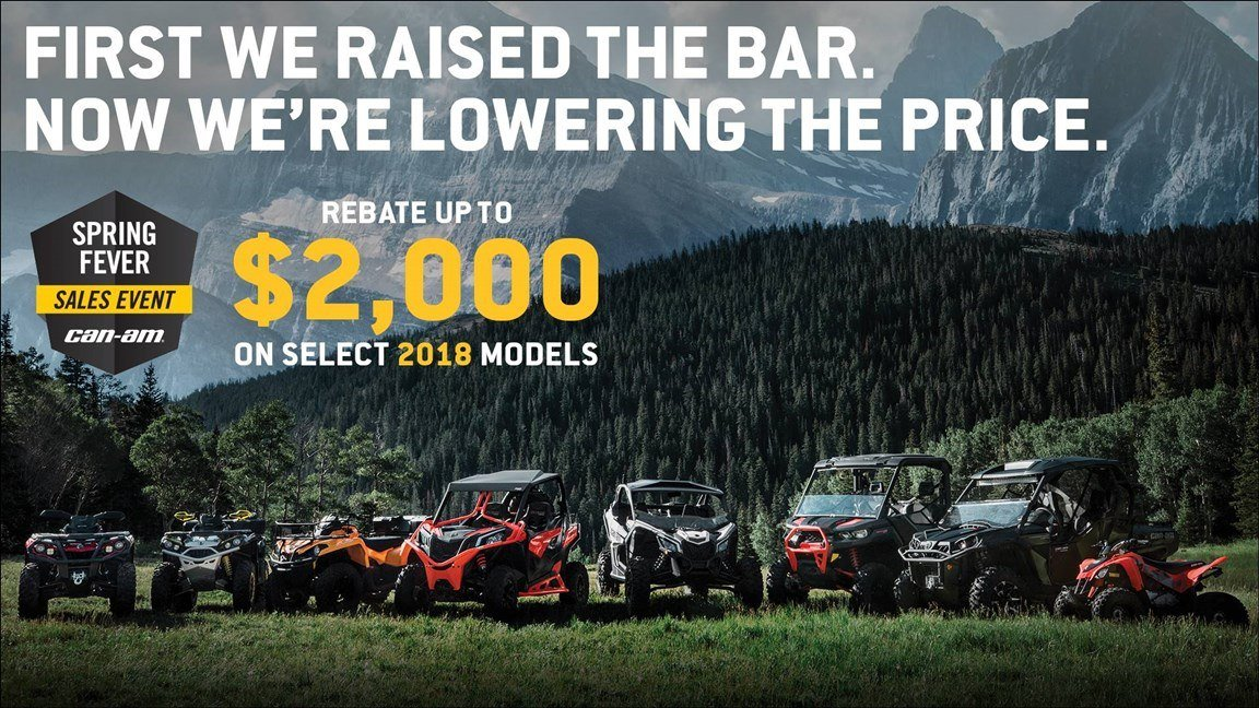 CAN-AM SPRING FEVER SALES EVENT
