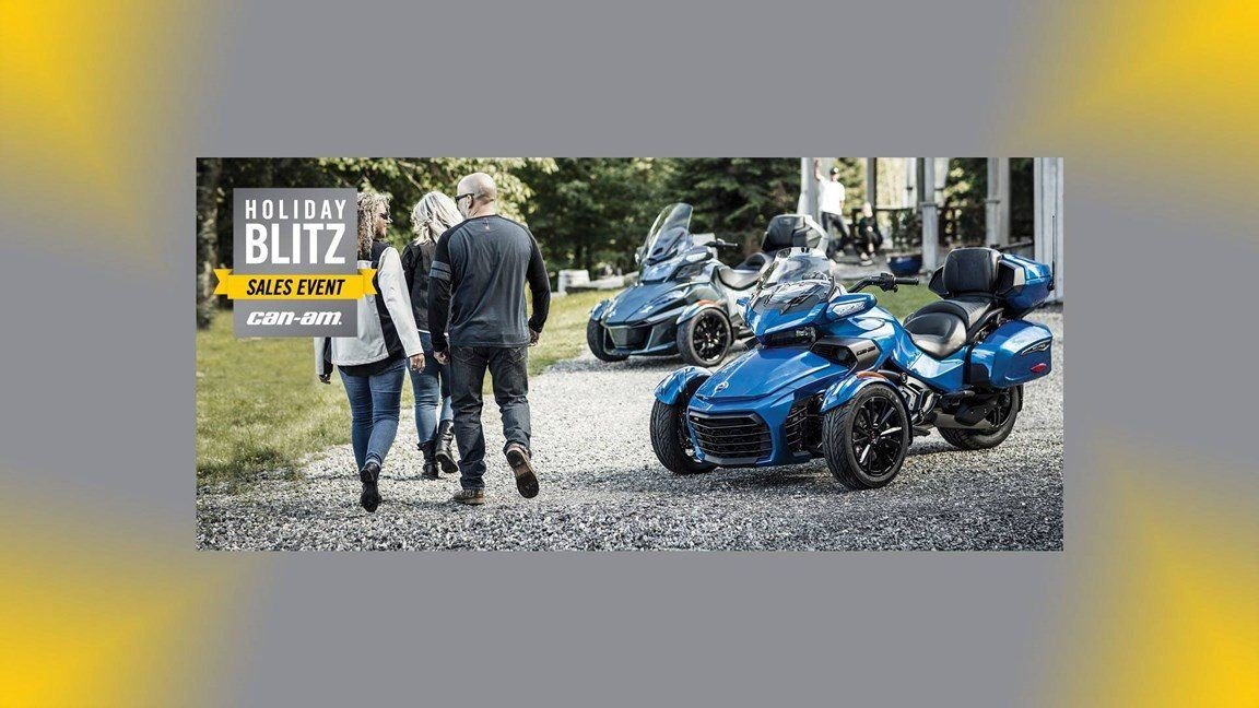 Can-Am - Spyder Holiday Blitz Sales Event